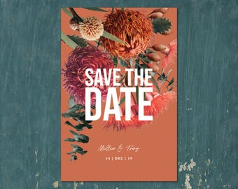 Save the Date Invite | Digital Download Invitation | Save the Date invitations | Save the Date Invites | MILLIE - Save the Date