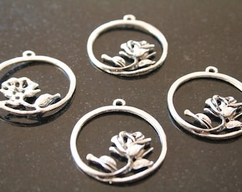 10 metal pendants. (ref:0899).