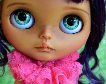 Custom Blythe Doll-Ooak Doll-Blythe-Big Eyes