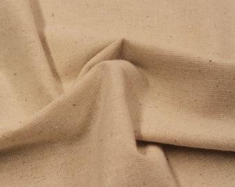 Osnaburg Fabric / Natural Osnaburg / Basic Fabric -3/4 Yard- Cotton Fabric / New Fabric / Cotton Osnaburg / Unbleached Osnaburg / LAST PIECE