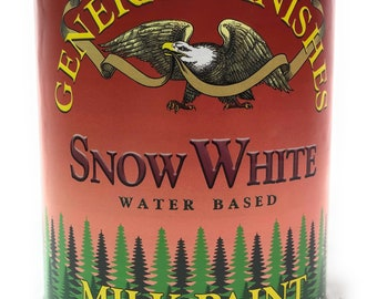 General Finishes Milk Paint -Snow White- 1 Quart- Free Shipping