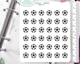 Soccer Stickers Game Stickers Sports Stickers Planner Stickers Erin Condren Functional Stickers NR769