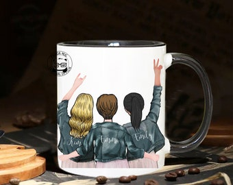 Soul Sister Mug, Personalized Best Friend Gift, Sister Mug, Sister Gift, Best Friends