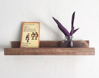 Midcentury Modern Shelf with Ledge