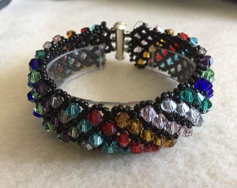 Bicone happiness bracelet