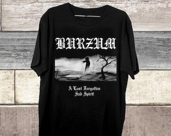 Burzum Aske Tshirt Black Metal