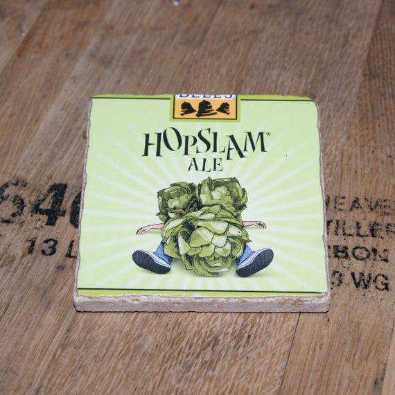 UPcycled Coaster - Bells Brewery - Hopslam Ale