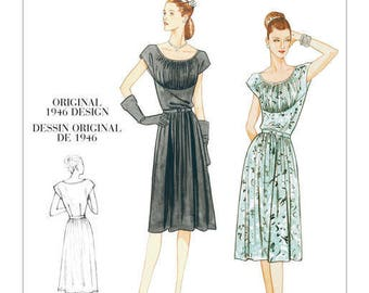 By Vogue V8728 retro vintage sewing pattern