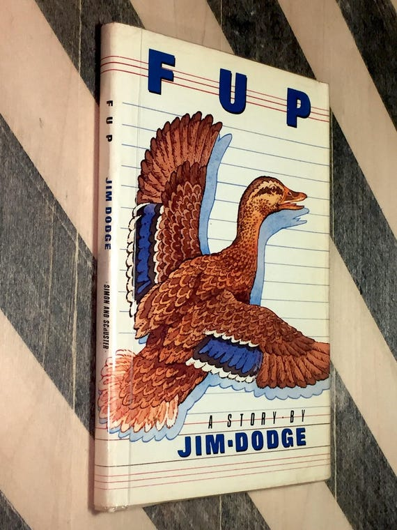 FUP by Jim Dodge (1983) first edition book