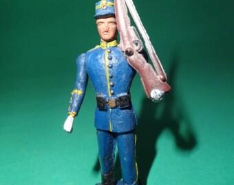 PAL AOHNA ATHENA Soldier, Greece Evelpis Soldier, Greek Army Corps Soldier, Athena Evelpis Figure, Vintage Aohna 1980's Soldier, Athena Toys