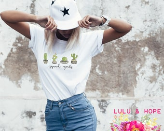 Cactus, Cactus Print, Succulents, Cactus Tshirt, Plant Lady, Plant Mom, BoHo Shirt Women, Cactus Shirt Women, Plant Mom Shirt, Cactus Tee