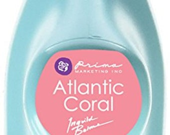 Prima - Fluid Chalk Ink Edger Pad - Atlantic Coral