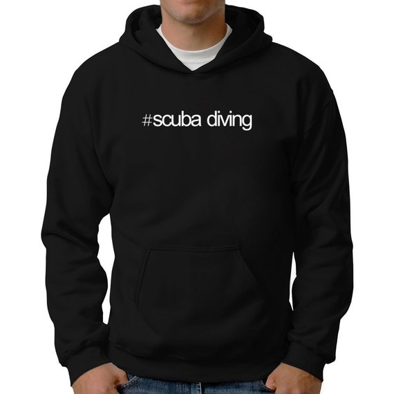 Hashtag Scuba Diving Hoodie Mh1uDVWks
