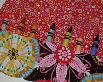 Crayon Wrap - Carnival Bloom (#129)
