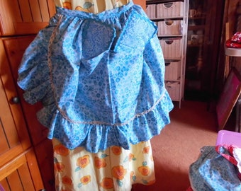 Handmade ladies apron