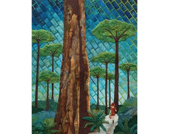 Art Quilt Giclee Print MUSEUM QUALITY REPRODUCTION