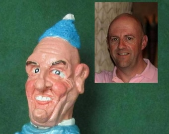 Personalised Caricature Sculpture, Customized Gift made to order