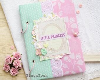 Baby Book Girl, Baby Memory Book, Baby Girl Photo Album Photo Book, Newborn Keepsake Book, Baby Book Memory, Girl Gift, Baby Record Book