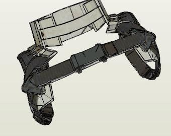 Fallout 4 - Full Set Synth Armor Lite - EVA Foam Template
