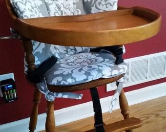 high chair pad etsy