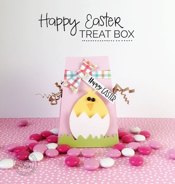 Kit easter chick treat box wraps kids easter basket kit easter chick treat box wraps kids easter basket hershey employee gifts co workers treats office treats teacher place setting negle Choice Image