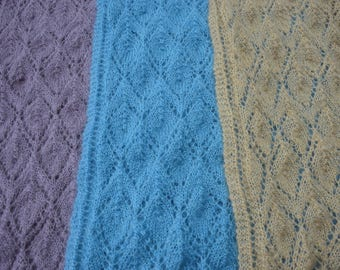 Scarf or shoulder cover wool mohair