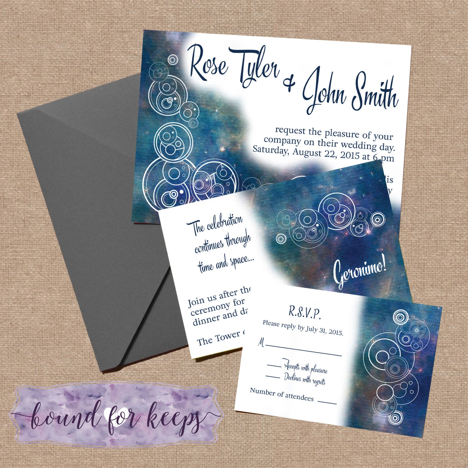 Emejing Dr Who Wedding Invitations Contemporary - Styles & Ideas ...