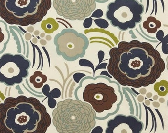 Mocca in Tea (Lawn Fabric) from the Lake Hollywood collection for Alexander Henry