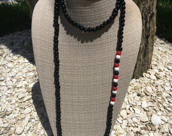 Vero beach high school wrap necklace