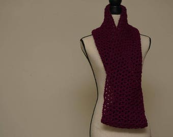 Chunky Cowl( Wildberry) [ SPRING DISCOUNT!!!]