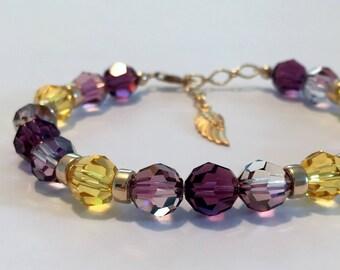 Archangel Uriel Sacred Energy Infused Swarovski Crystal Healing Bracelet by Crystal Vibrations Jewelry