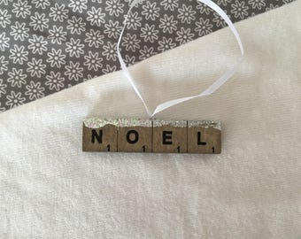 Christmas ornament: Scrabble