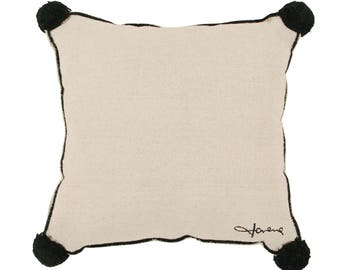 Beige Square Cushion