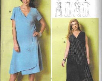 Womens Plus Size Dress, By Connie Crawford, Sizes XXL Thru 6X, New Uncut Butterick Patttern 6359