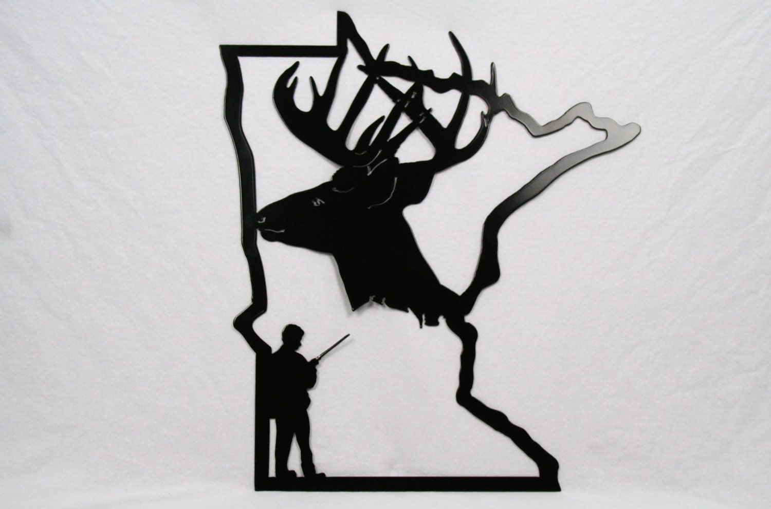 Hunters Man Cave Signs : Minnesota deer hunting sign hunter decor