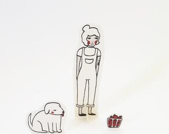 Pop Up Paper Doll - Charlie