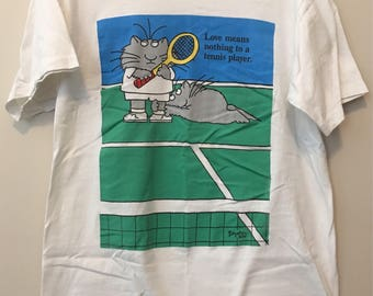 Sandra Boynton vintage 90's TENNIS t-shirt - Large
