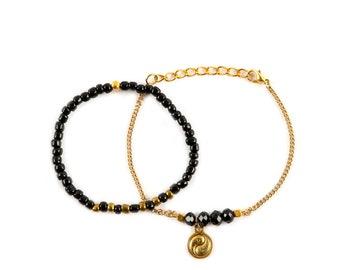 Bracelets Set Yin-Yang
