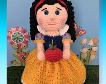 Snow White (PDF pattern only, not the finished doll)