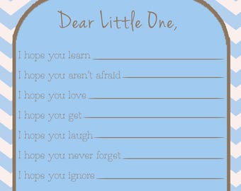 Wishes for Baby (Blue)