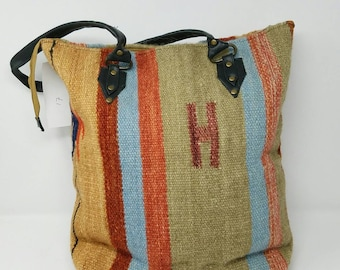 Free Shipping Beautiful handmade kilim bag. Tote bag. Shoulder bag. Handbag. Christmas bag