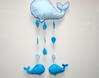 Stitchable or whale-shaped wall décor