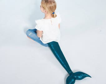 La Sirena - aquamarine tail, mermaid, mermaid tail, x-mas gift, girls, Christmas Gift
