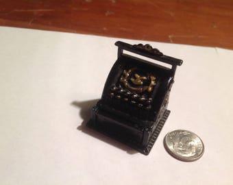 Miniature Metal  Cash register