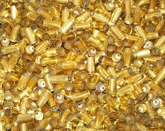 9MM Brass Casings (25) or (500) or (1000) + Not CLeaned or Cleaned & Polished