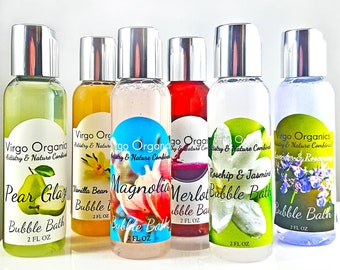 Bubble Bath Set! / 2 different Sets to Choose From! / Gluten Free / All Natural / Organic Essential Oils