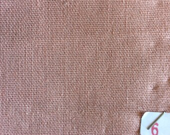 Cotton canvas, old rose No. 6, perfect for clothing and linens