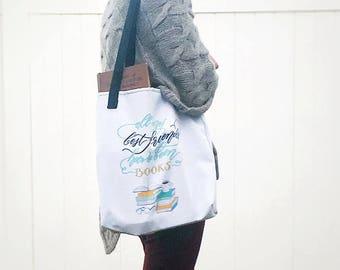 Bookworm Large Shoulder Tote Bag