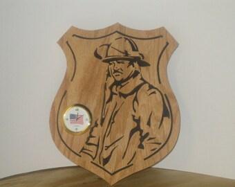 Fireman Clock