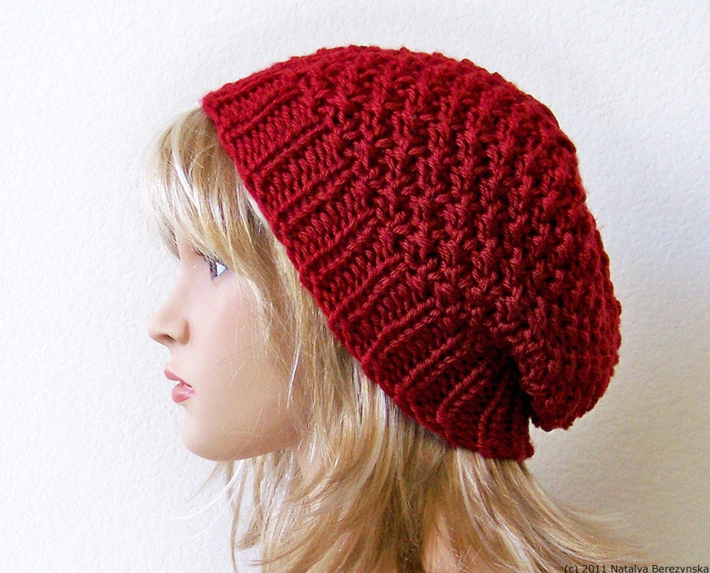 Slouchy hat pattern knit hat pattern knitting pattern hat zoom bankloansurffo Choice Image